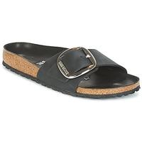 Topánky Ženy Šľapky Birkenstock MADRID BIG BUCKLE Čierna / Matná