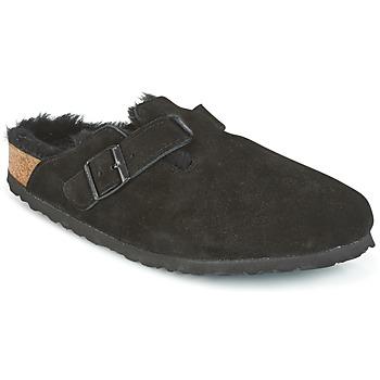 Topánky Nazuvky Birkenstock BOSTON Čierna