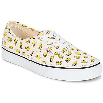 Topánky Nízke tenisky Vans AUTHENTIC SNOOPY Biela / žltá