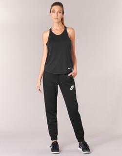 Oblečenie Ženy Tepláky a vrchné oblečenie Nike RALLY PANT Čierna / Biela