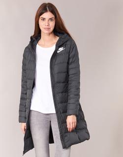 Oblečenie Ženy Vyteplené bundy Nike DOWN FILL PARKA Čierna / Biela