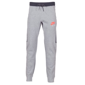 Oblečenie Muži Tepláky a vrchné oblečenie Nike AIR JOGGER FLEECE šedá / červená