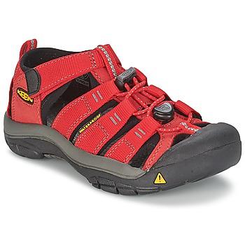 Topánky Deti Športové sandále Keen KIDS NEWPORT H2 červená / šedá