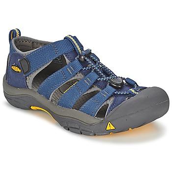 Topánky Deti Športové sandále Keen KIDS NEWPORT H2 Modrá / šedá