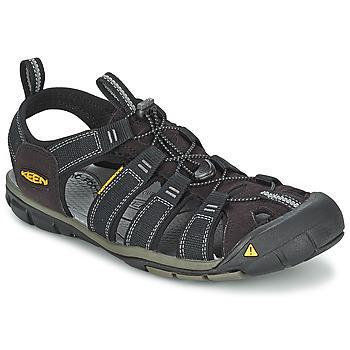 Topánky Muži Športové sandále Keen MEN CLEARWATER CNX Čierna / Šedá