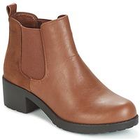 Topánky Ženy Čižmičky Moony Mood GLOVILA ťavia hnedá
