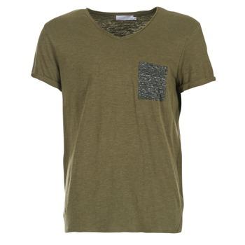 Oblečenie Muži Tričká s krátkym rukávom Eleven Paris ABICO Kaki