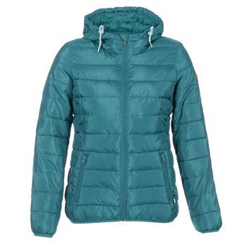 Oblečenie Ženy Páperové bundy Roxy FOREVER FREELY Modrá / Petrolejová modrá