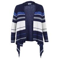 Oblečenie Ženy Cardigany Casual Attitude HARINE Námornícka modrá / Biela