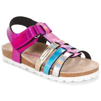 Topánky Dievčatá Sandále Les Tropéziennes par M Belarbi POLINA Ružová / Modrá / Strieborná
