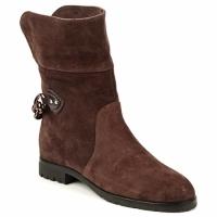 Topánky Ženy Polokozačky Marc Jacobs CHAIN BOOTS Hnedá