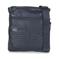 Tašky Muži Vrecúška a malé kabelky Armani jeans GIBOU Námornícka modrá