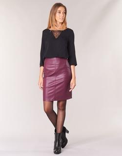 Oblečenie Ženy Sukňa Vila VIPEN Bordová
