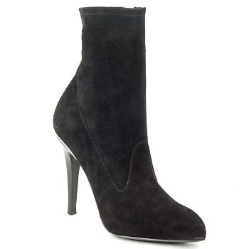 Topánky Ženy Čižmičky Michael Kors STRETCH LB Čierna