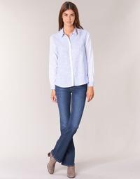 Oblečenie Ženy Džínsy Bootcut Pepe jeans PIMLICO Ca0 / Modrá