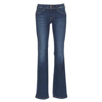 Oblečenie Ženy Džínsy Bootcut Pepe jeans PIMLICO Ca0 / Modrá / Raw