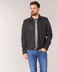 Oblečenie Muži Kožené bundy a syntetické bundy Pepe jeans NARCISO Čierna