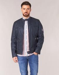 Oblečenie Muži Bundy  Pepe jeans RACER Námornícka modrá