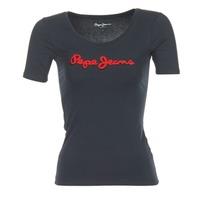 Oblečenie Ženy Tričká s krátkym rukávom Pepe jeans MARIA čierna