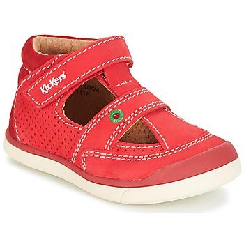 Topánky Chlapci Sandále Kickers GOODSPEED Červená