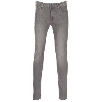 Oblečenie Muži Džínsy Slim Jack & Jones LIAM šedá