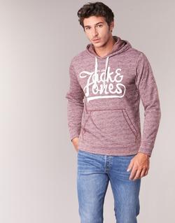 Oblečenie Muži Mikiny Jack & Jones PANTHER ORIGINALS Bordová