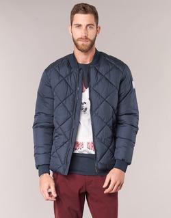 Oblečenie Muži Vyteplené bundy Jack & Jones SOUTH ORIGINALS Námornícka modrá