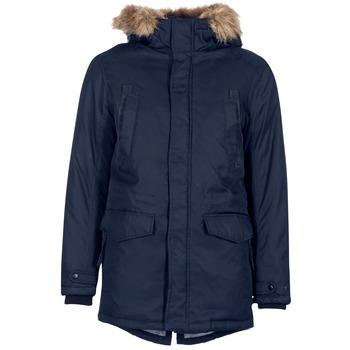 Oblečenie Muži Parky Jack & Jones LAND CORE Námornícka modrá
