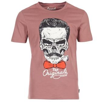 Oblečenie Muži Tričká s krátkym rukávom Jack & Jones CRIPTIC ORIGINALS Ružová