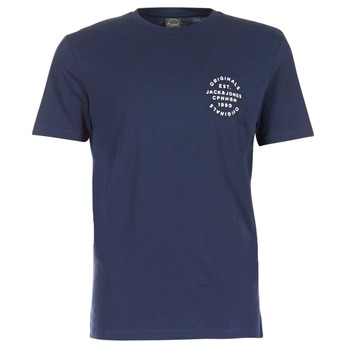 Oblečenie Muži Tričká s krátkym rukávom Jack & Jones ORGANIC ORIGINALS Námornícka modrá