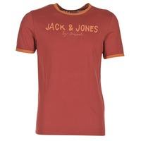 Oblečenie Muži Tričká s krátkym rukávom Jack & Jones RETRO ORIGINALS červená