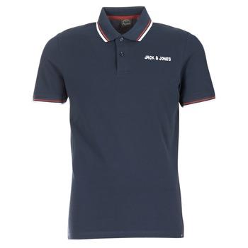 Oblečenie Muži Polokošele s krátkym rukávom Jack & Jones WAZ ORIGINALS Námornícka modrá