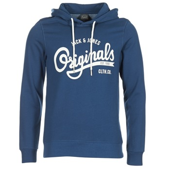 Oblečenie Muži Mikiny Jack & Jones HAWL ORIGINALS Modrá
