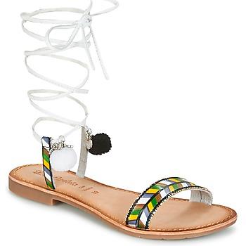Topánky Ženy Sandále Lola Espeleta EDWINA Zelená / Strieborná