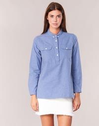 Oblečenie Ženy Košele a blúzky Armor Lux GRICHA Modrá