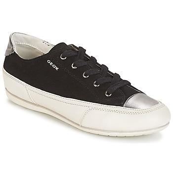 Topánky Ženy Nízke tenisky Geox D N.MOENA D - SCAM.STA+VIT.CER čierna