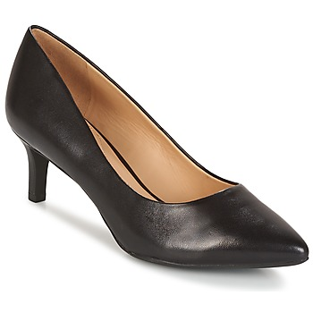 Topánky Ženy Lodičky Geox D ELINA C - CAPRA NAPPATA čierna