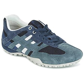 Topánky Ženy Nízke tenisky Geox U SNAKE K - SCAM.+MESH Modrá