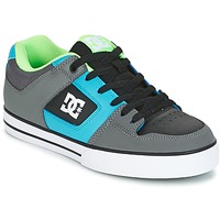 Topánky Muži Skate obuv DC Shoes PURE Šedá / Zelená / Modrá