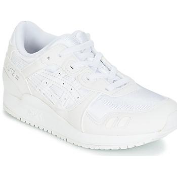 Topánky Deti Bežecká a trailová obuv Asics GEL-LYTE III PS Biela / Béžová