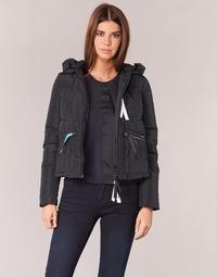 Oblečenie Ženy Vyteplené bundy Armani jeans JIORM Čierna