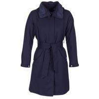 Oblečenie Ženy Kabátiky Trenchcoat Armani jeans MERCHA Námornícka modrá