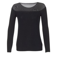 Oblečenie Ženy Svetre Armani jeans LAMOC čierna