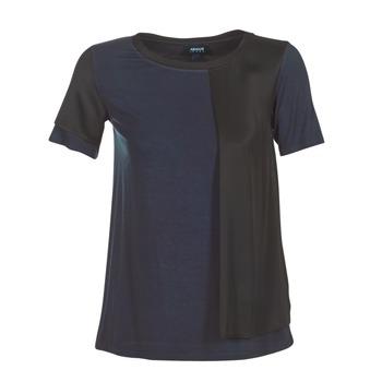 Oblečenie Ženy Tričká s krátkym rukávom Armani jeans DRANIZ Námornícka modrá / Čierna