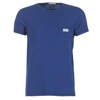 Oblečenie Muži Tričká s krátkym rukávom Scotch & Soda JURISCU Námornícka modrá