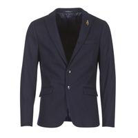 Oblečenie Muži Saká a blejzre Scotch & Soda DARLO Námornícka modrá