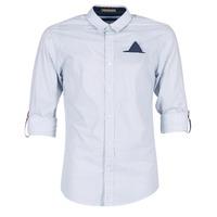 Oblečenie Muži Košele s dlhým rukávom Scotch & Soda DARLU Biela / Modrá