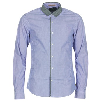 Oblečenie Muži Košele s dlhým rukávom Scotch & Soda JILLA Modrá