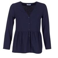 Oblečenie Ženy Blúzky Betty London HALICE Námornícka modrá