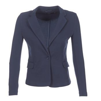 Oblečenie Ženy Saká a blejzre Vero Moda JULIA Námornícka modrá